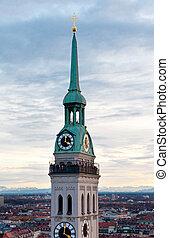 教会, st. ピーター, ミュンヘン