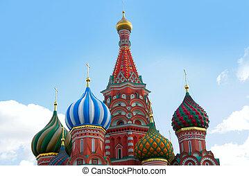 教会, st. 。, kremlin, basil's, 大聖堂