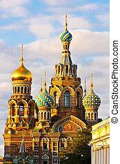 教堂, 在中, 圣彼得堡
