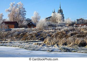 教堂, 在中, vladimir, 图标, 在中, 上帝的母亲, 在中, bykovo