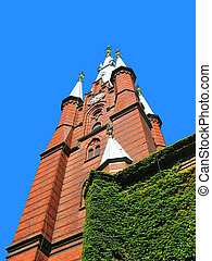 教堂, 在, 斯德哥爾摩, 瑞典