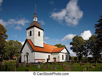 教堂, 瑞典,  vardinge