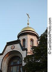 教堂, ......的, 聖約翰, the, 戰士