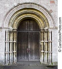 教堂, 門口
