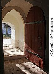 教堂, 門