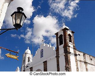 教堂,  Lamppost, 簽署