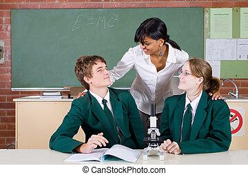 教學, 科學