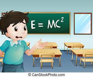 教室, 男の子