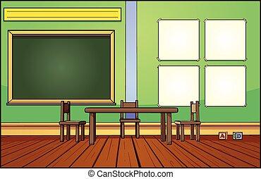 教室, 背景