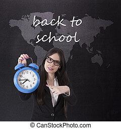 教師, ∥において∥, 学校, 学校に戻って, 概念