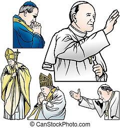 教皇, 集合