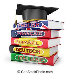 教科書, 言語