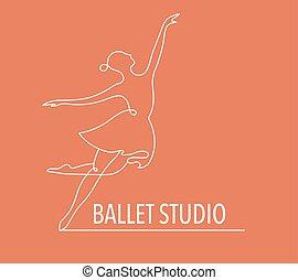 教練, 网, 鮮艷, 人們, 跳舞, 摘要, 體操, 跑, 矢量, 健身, 標識語, design., logo., 符號, 圖象