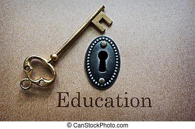 教育, ある, ∥, キー