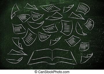 教育, ある, ∥, キー, 本, ∥で∥, ページ, 飛行, のまわり