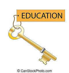 教育, キー