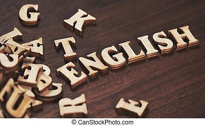 教育, 単語, 英語