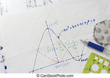数学, 機能, グラフ