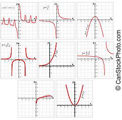 数学, 機能, ベクトル, グラフ