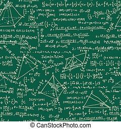 数学, 8, pattern., seamless, eps
