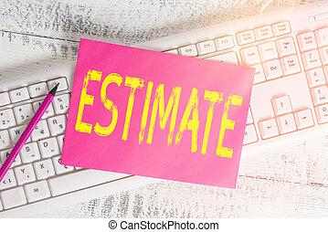 数, オフィス, 空, 長方形, 量, 概念, 供給, ペーパー, 算定しなさい, 計算しなさい, 値, およそ, ...