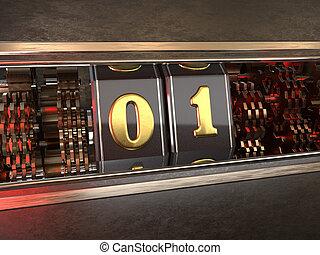 数, スロット, one), 機械, 1, (number, スタイル