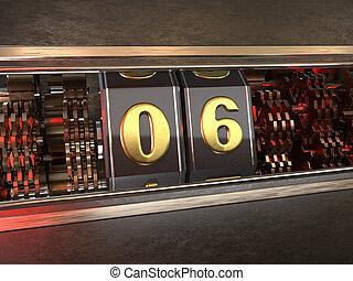 数, スロット, six), 機械, (number, 6, スタイル