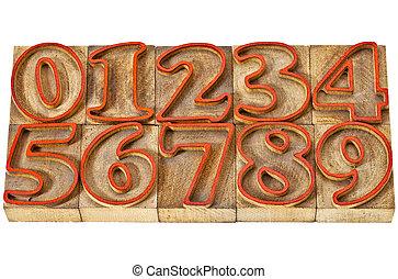 数, 抽象的, 中に, 木, タイプ