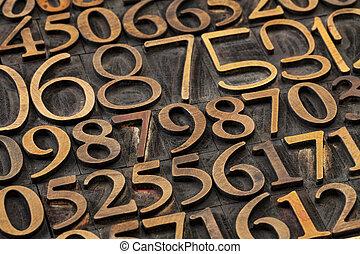 数, 抽象的