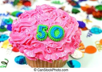 数, 祝福, -, 50, cupcake