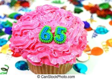 数, 祝福, -, 65, cupcake