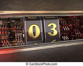 数3, スロットマシン, three), (number, スタイル