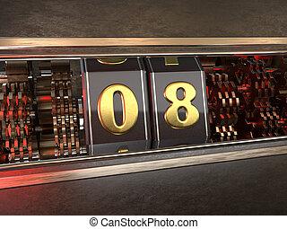 数8, eight), スロットマシン, (number, スタイル