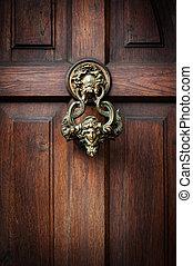 敲, 上, dracula's, 門