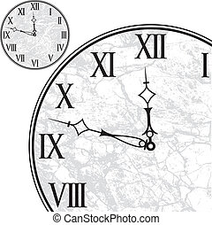 數字, 羅馬, 鐘表面
