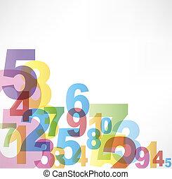 數字, 背景