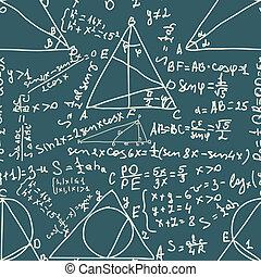 數學, 以及, trigonometrical, formulas., eps, 8