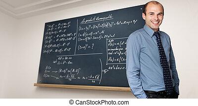 數學, 老師