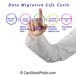 數据, 遷移, 生命周期