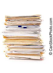 文件, 堆