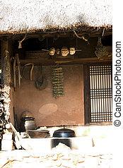 文化, 家, 南, 伝統的である, 韓国