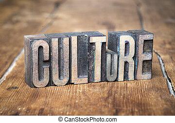 文化, 木, 単語
