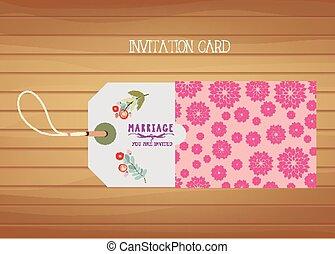 文房具, 結婚式, カード, 招待