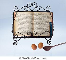 料理の本, 古い