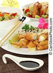 料理, 中国語