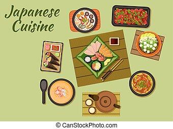 料理, 寿司, 日本のスープ