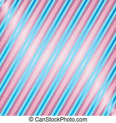 斜紋織物, 藍色, 以及, 粉紅色, 鑲邊背景