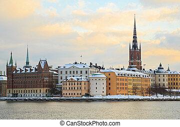 斯德哥爾摩, 城市, 瑞典
