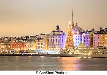 斯德哥爾摩, 夜間