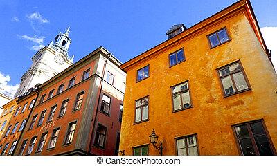 斯德哥爾摩, 老 鎮, 城市